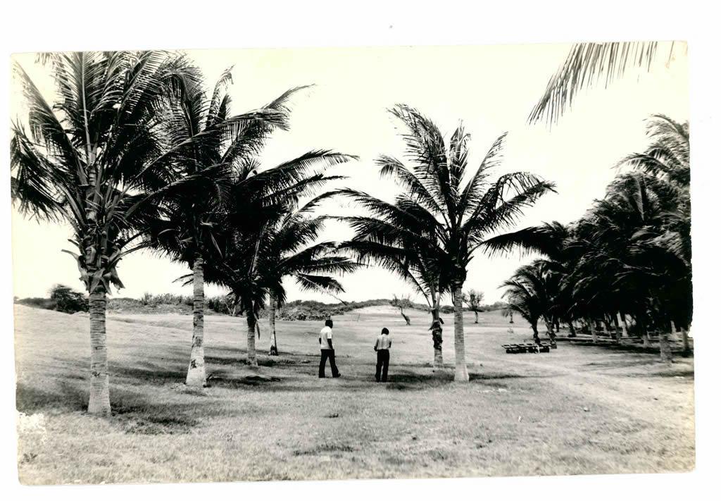 Primeras fotografías del Campo de Golf en nuestra sede Sabanilla, inaugurada el 19 de marzo de 1983.