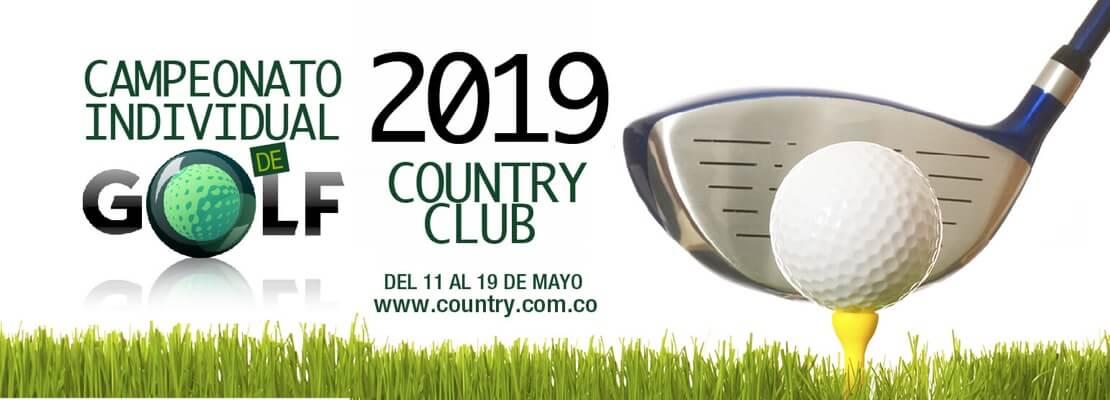 Campeonato iIndividual de Golf may 2019