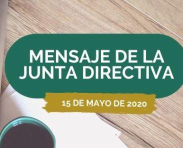 COMUNICADO 15 DE MAYO