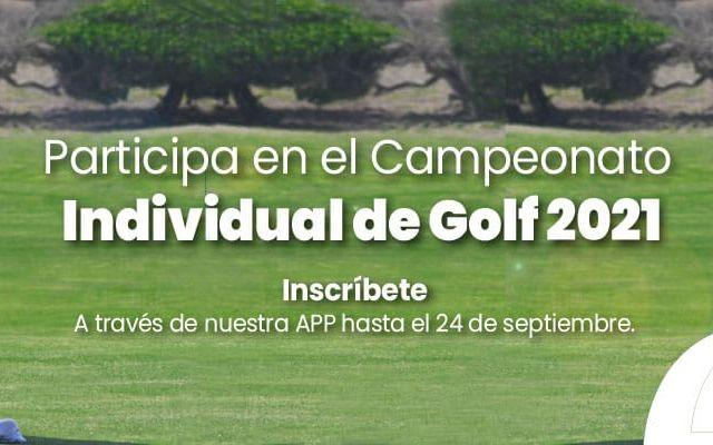 Banner tipo 2 Torneo INdividual de Golf