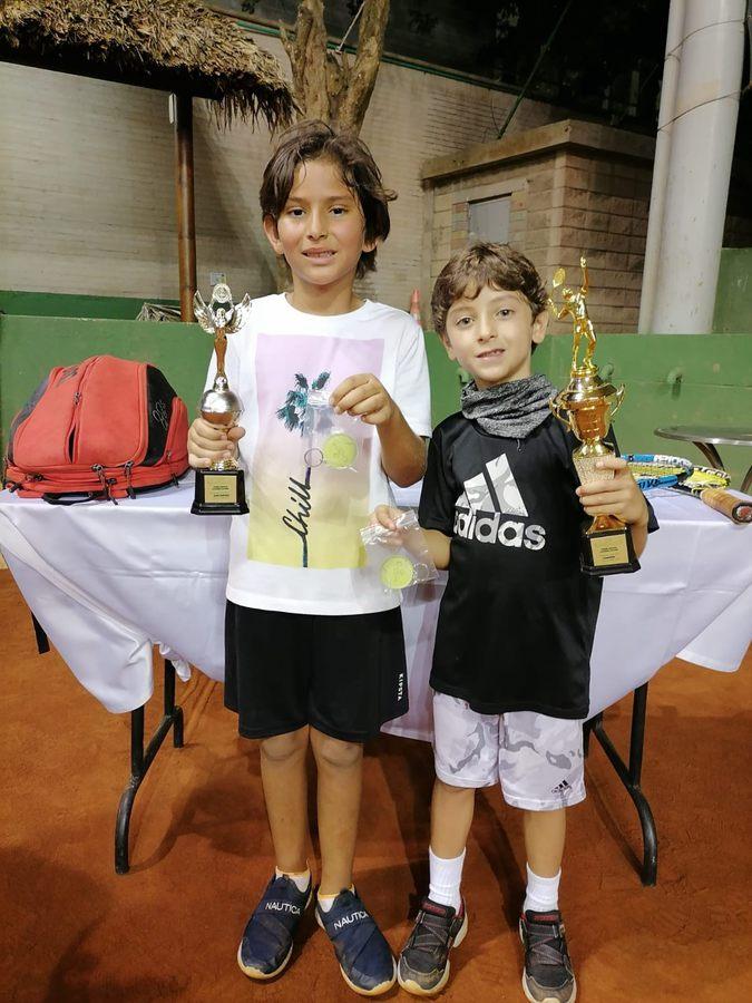 Thiago Carvajales y Thiago Castro